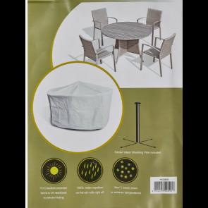 Cover til havemøbler  - rundt bord (443688)