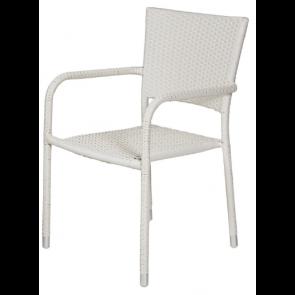 4 stk Stabelstole Amanda hvid (522002)