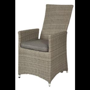 Høj stol med gaspumpe - grå (601090)