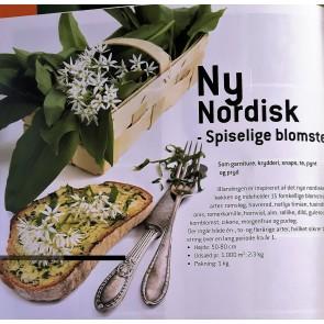 Blomstermark . Ny nordisk blanding - kun spiselige blomster. Flerårig engblanding  (Dækafgrøde).