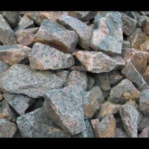 Gabioner Røde  80/160 1 ton i Storsæk. - LEVERING JYLLAND/FYN
