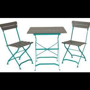 Cafesæt - bord og 2 klapstole -   ( 2 stk 526083 + 526075)