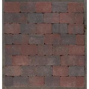 Herregård sten - Colourmix, Halv sten - 14 x 10,50 x 7 cm.