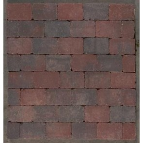 Herregård sten - Colourmix, Halv sten - 14 x 10,50 x 5,5 cm.