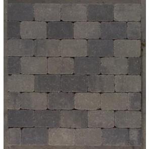 Herregård sten - Gråmix, halv sten  - 14 x 10,50 x 7 cm.