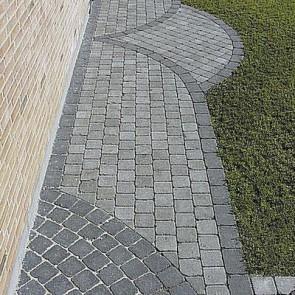Herregård sten - Koks, Halv sten  - 14 x 10,50 x 5,5 cm.