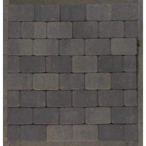 Hjertingsten® - Gråmix, Halv sten  - 14 x 10,50 x 5,0 cm.