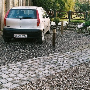 Ecoblock græsarmering, EH40 (37,24 m2) til person- og varevognstrafik.