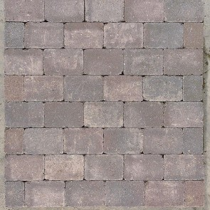 Herregård sten - Brunantik  - 14 x 21 x 7 cm.