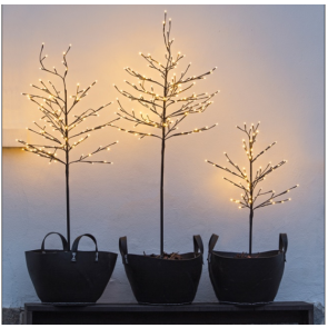 Lystræ fra Sirius med 280 LED lys  NOAH  Brun