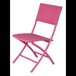 4 stk Pink klapstole 4-line (442083)