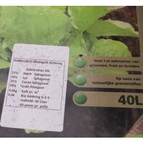 Pottemuld godkendt til økologisk brug