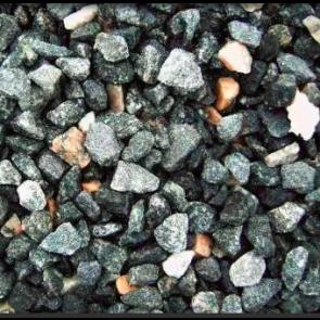 Grå Stockholm granitskærver 30/60   1 ton i Storsæk. - LEVERING SJÆLLAND