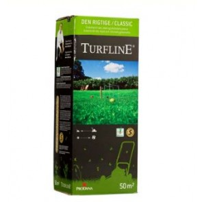 Turfline Den Rigtige græsfrø 1 kg til 50 m2 - -
