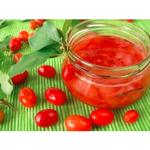 Kirsebærkorne - storfrugtet l (CORNUS mas 'KASANLAKER') - Busk i 5 liters potte