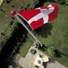 Glasfiberflagstang 11 m. standard - 11 meter.